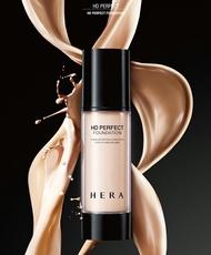 韓國原裝- 17號-粉嫩膚色 / HERA  新上市HD PERPECT Foundation 『超保濕完美遮瑕粉底液 』