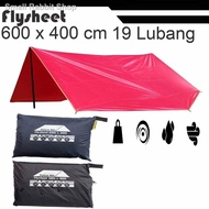 ✾◄Flysheet Tent 6x4m