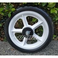 輪胎 ♡曼尼♡ 發泡輪 小朋友 滑步車 12吋 車輪 發泡輪 實心輪 車輪 輪子 白輪