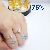 75% Gold Ring 1.450 Gram