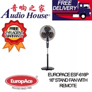 EUROPACE ESF-616P 16 STAND FAN WITH REMOTE *** 2 YEARS EUROPACE WARRANTY ***