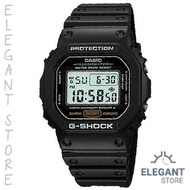 Casio G-Shock DW-5600E-1 Electro-luminescent backlight Men's Watch / DW-5600E-1V