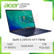 Acer Swift 5 SF515-51T-78M0 15.6-Inch Intel i7 Thin and Light Laptop (Blue)