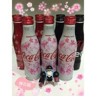 ★日本代購-噗花園★現貨 日版 限定 2017 限量 櫻花 雪花 Zero 鋁瓶 可口可樂 Coca Cola  曲線瓶