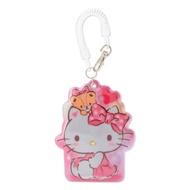 Hello Kitty 反光車票套,收納包/悠遊卡套/隨身包/掛鍊/名片套/證件套,X射線【C701768】
