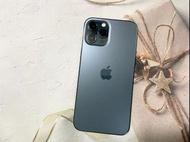 ⭐️店面櫃內展示機出清⭐️🍎蘋果iPhone 12 promax 128G 藍色手機🍎原盒原配📣原廠保固中📣