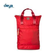 【deya】生活趣deya熊平口後背包(紅)