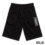MLB-紐約洋基隊文字印花快排短褲-黑 (男)