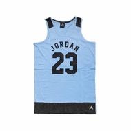 【NIKE 耐吉】背心 Jordan Tank 童款 喬丹 飛人 小朋友 運動休閒 23號 藍 黑(53311ST513-206)