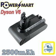 Powersmart - Dyson V6, DC62系列 代用鋰電池 21.6V/2500mAh