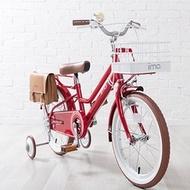 【淘氣寶寶】日本 iimo 兒童腳踏車16吋-經典紅【保證公司貨】