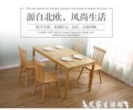 溫莎椅實木北歐餐椅簡約現代餐廳組合靠背椅子宜家休閒卯榫原木色 LX 【限時特惠】