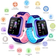 Q12 1.44 Inch Touch Screen Children's Smart Watch IP67 Waterproof SOS GPS Positioning Call Watch for Kids