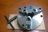 ※達哥機械五金SK-08C※【全新強力型前鎖三爪夾頭8英吋*200MM 前鎖型/分度盤◎特賣5500.另可加價購買8吋HV-8立臥分度盤與快速型分度盤組