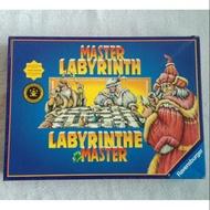 二手桌遊 德國 新天鵝堡 巫術大師迷宮 (百變迷宮的進階版) Ravensburger Master Labyrinth