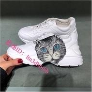 Gucci WS1 神秘貓 女士 Lightton 運動鞋  休閒鞋 老爹鞋 583337 DRW00 9014