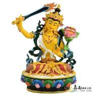 【嘉南佛教文物】【波麗佛像-藏密式文殊菩薩】4吋
