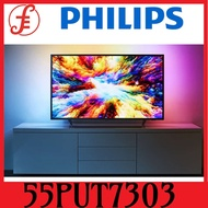 Philips TV 4K Ultra Slim LED 55 inch powered by Android 55PUT7303/98