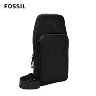 【FOSSIL】618年中慶★Sport 單肩斜背包-黑色 MBG9529001