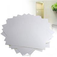 Decorative Mirrors Self-adhesive Tiles Mirror Wall Stickers Decor
