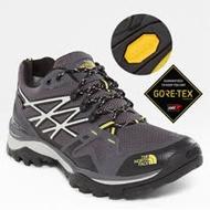 【美國 The North Face】男新款 Gore-Tex 防水透氣耐磨輕量登山鞋/CXT3 黑黃 N