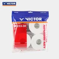 【新品上市】VICTRO/威克多旗艦店吸汗類手膠羽拍外握把膠三十支裝 GR233-30