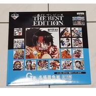 全新未拆 一番賞 海賊王 THE BEST EDITION G賞 色紙 簽名板