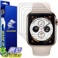 [9美國直購] 螢幕保護膜 ArmorSuit [6 Pack] MilitaryShield Screen Protector for Apple Watch Series 4/5 (44mm) [Max Coverage]