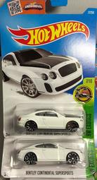 Hot Wheels 風火輪 BENTLEY CONTINENTAI SUPERSPORTS 賓利 TOMICA