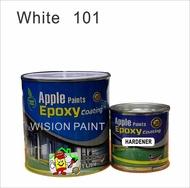 APPLE EPOXY 1L -  101 White • Apple • Cat Lantai