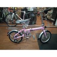 【Bb鐵馬】點進來免費昇級摺疊踏板 免運 OYAMA歐亞馬 M100神馬16MINI16吋6段變速折疊車兒童腳踏車童車