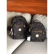【新款上市】kipling凱浦林燙金壓紋星空雙肩包後背包小號電腦書包旅行女書包背包K12642猴子包 實拍