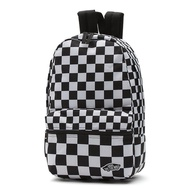 VANS VN00021TUO4 Calico Small Backpack 經典Logo 尼龍 後背包 (黑白格)