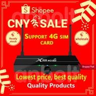 🔥X88 4G Lte TV BOX android 7.1 2G+16G RK3328 4G SIM card TV box 4K andorid TV BOX
