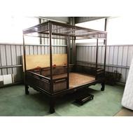 床01/古董床/骨董床/實木床/紅眠床/雙人床