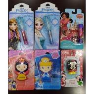 [現貨] 美國帶回 冰雪奇緣 護唇膏/唇蜜 正版 迪士尼  公主系列 交換禮物 聖誕節 Disney 米奇