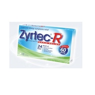 Zyrtec R Tablets and Solution-For skin allergy runny nose sneezing itchy rashes watery eyes!