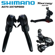 SHIMANO TOURNEY A070 2x7 Speed Road Bike Groupset Front Rear Derailleur Shifter Bike Cycle Derailleur 14s For Road Bike Cycling Part