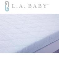 【美國 L.A. Baby】兒童雙面雙層護脊床墊(白色)