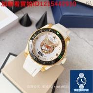 原廠正品貨 GUCCI 古馳 男生手錶 石英手錶 新款中性潛水錶 40mm錶徑 標誌性猛虎頭圖案 瑞士ETA石英機芯
