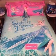 🔥🔥冰雪奇緣 艾莎 床罩 床單 床包 枕頭 四件組