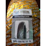 120/70-17 Tubeless tire (Silvestre)