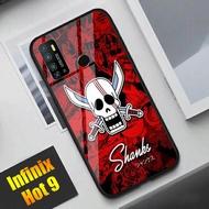 Infinix Hot 9 - SoftCase Glass Kaca - One Piece - S10 - Casing Hanphone - Pelindung Handphone - SoftCase Glass kaca - Infinix Hot 9 - Case Terbaikk!!
