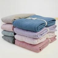 8月特惠無印良品風床包 嬰幼兒可用 台灣尺寸 天竺棉針織床包 專櫃同款 床包組 雙人加大床包 雙人床包 單人床包
