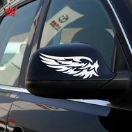 Reflective Rearview Mirror Stickers Wings Stickers Reflective Mirror Stickers