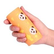 Vlampo Squishy Panda Swiss Roll Cake Toy Licensed Slow Rising Original Packaging