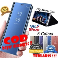 SAMSUNG A51 FLIP COVER MIRROR STANDING CASE LATEST