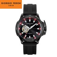 GIORGIO FEDON 1919  TIMELESS IX 鏤空機械錶(GFCK009) 黑&紅