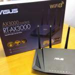 ASUS Router RT-AX3000 WiFi 6 (802.11ax) 99%新 (行貨)