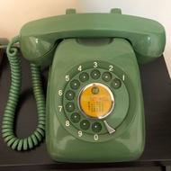 民國七十六年代古董中華電信600A1型轉盤式電話機